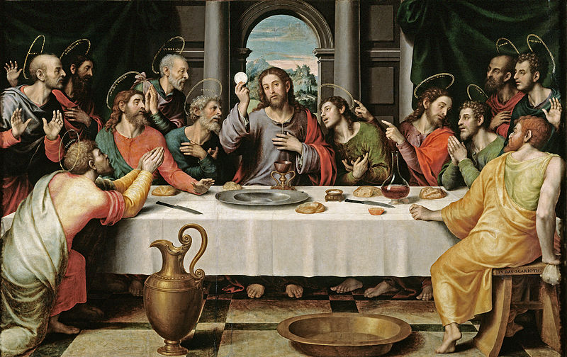 Jesus at Last Supper